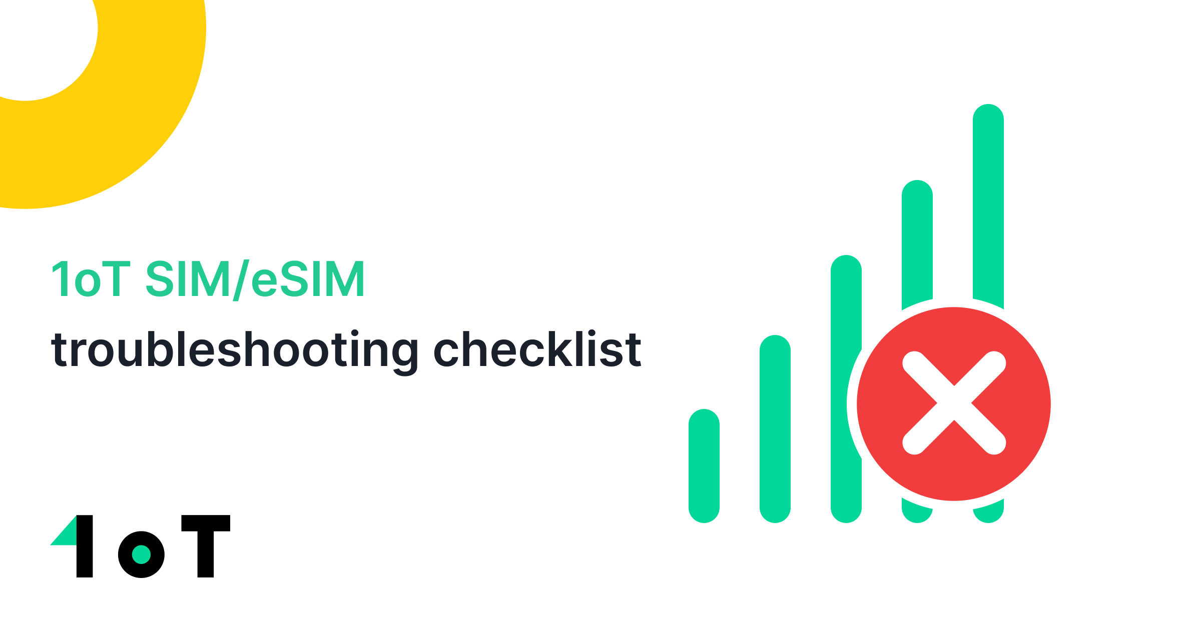 Article cover image for SIM/eSIM troubleshooting checklist