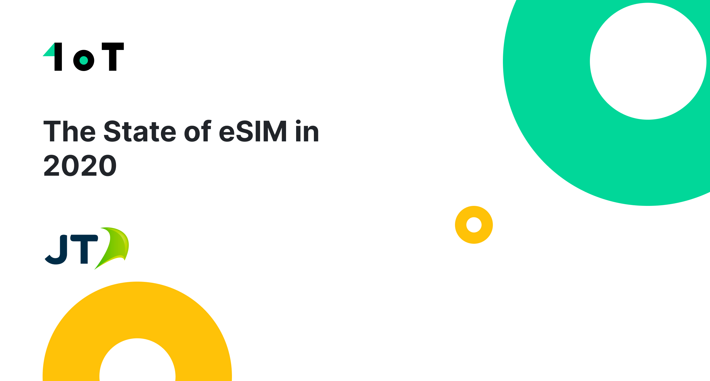 Article cover image for The State of eSIM in 2020 with JT